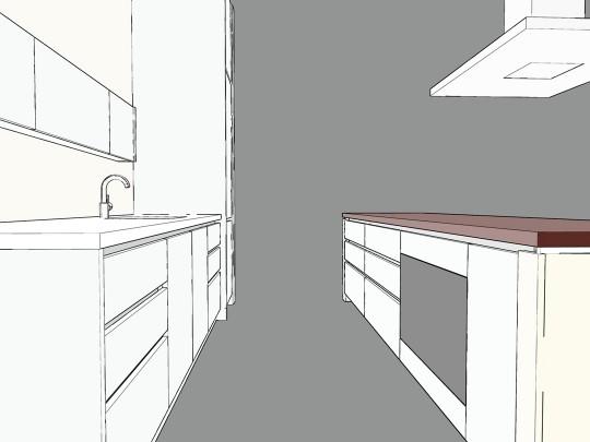 keuken steen & Corian