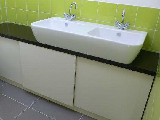 badkamerkast corian « vormgrip, Badkamer